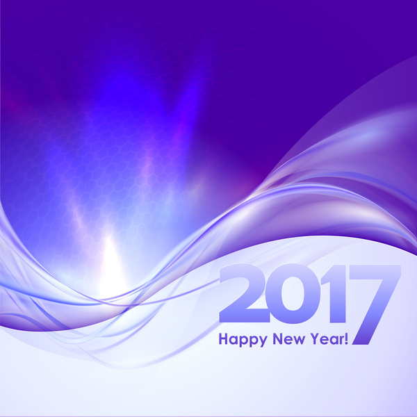 2017 new year purple abstract background vector 01 welovesolo