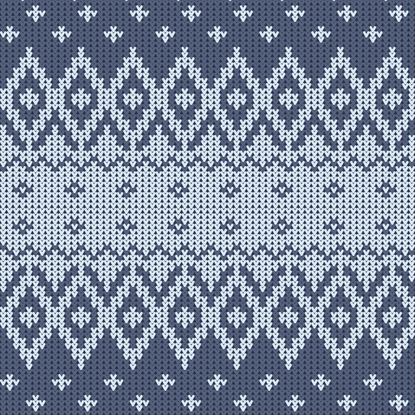 traditional seamless pattern knitted