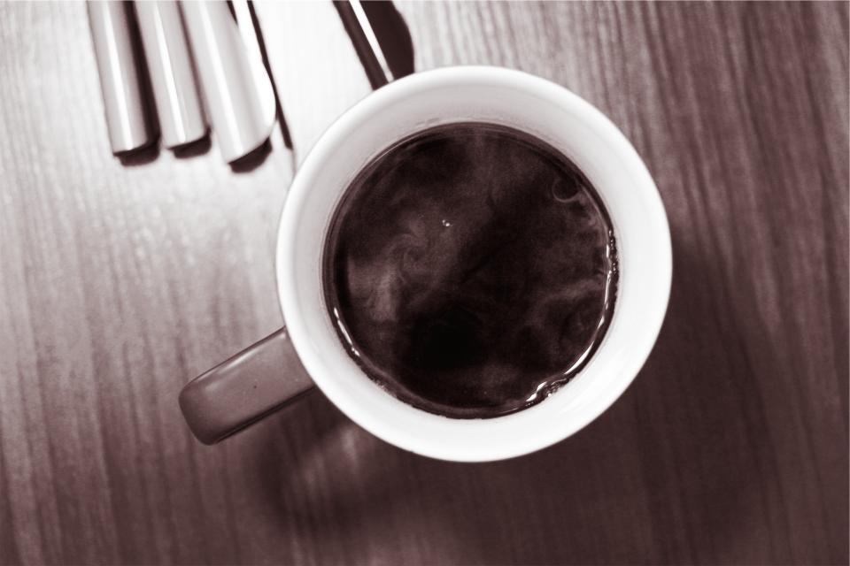 mug cup blackcoffee