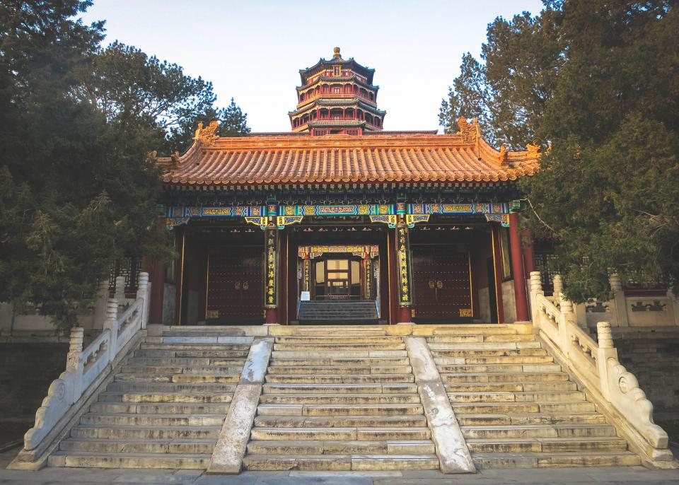 SummerPalace steps culture china Beijing architecture
