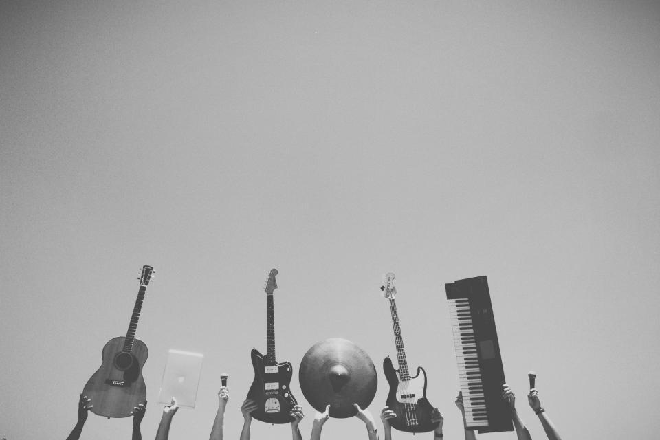 musicians music microphone MacBook laptop keyboard instruments hands electricguitars cymbols audio apple accoustinguitar