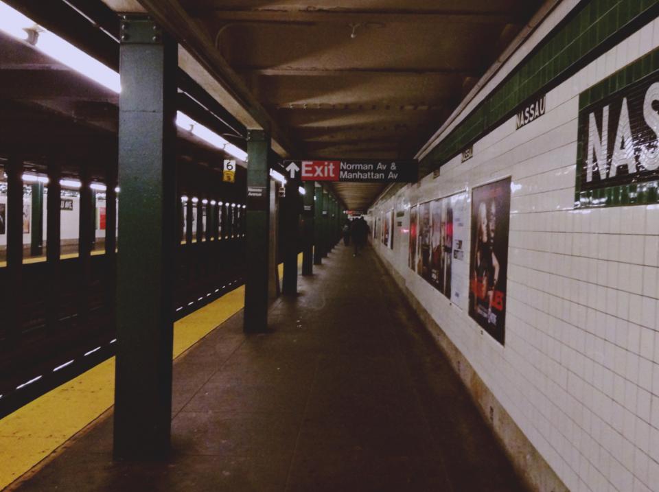 urban transportation subway station NYC NewYork