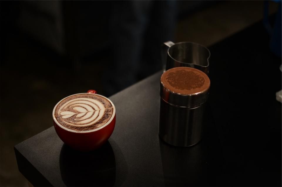mug latte froth cup coffee cocoa cappuccino