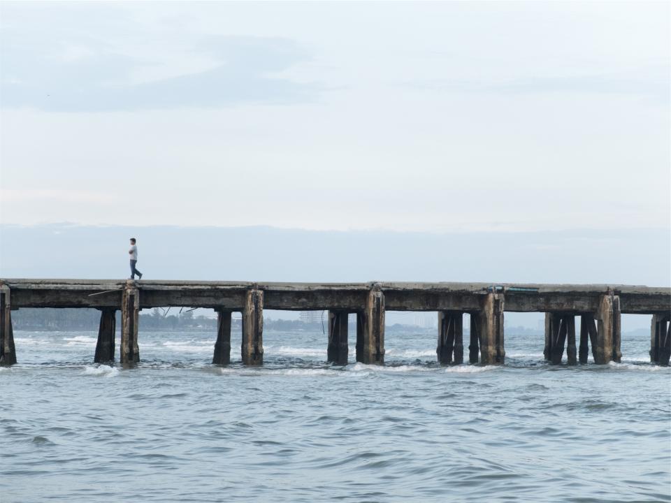 Pier Ocean Sea 34246