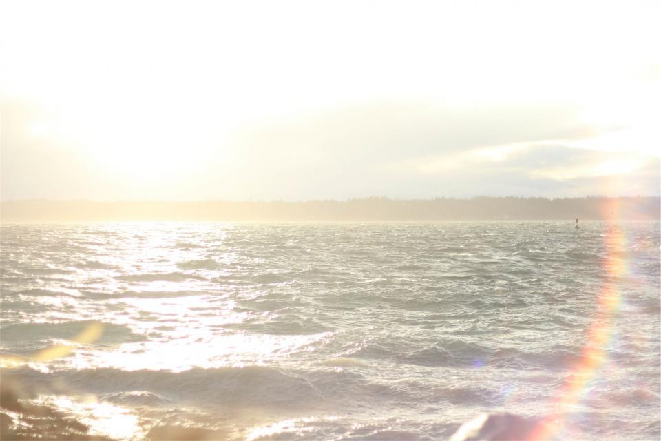 water sunshine sunrays summer sky sea ocean