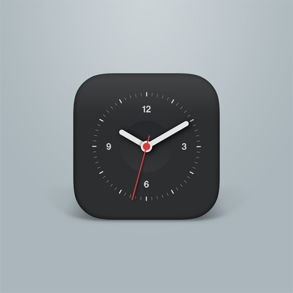 phone mobile ios icon free face clock icon clock app clock analogue