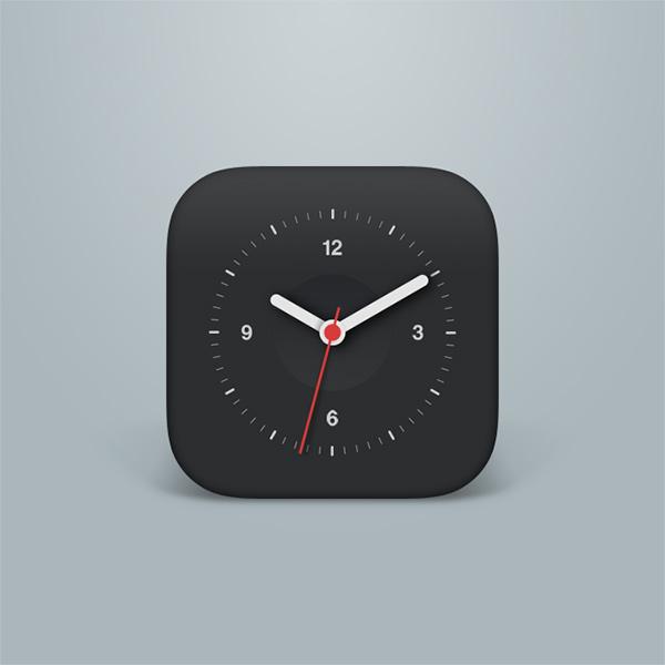 phone mobile ios icon free face clock icon clock app clock analogue