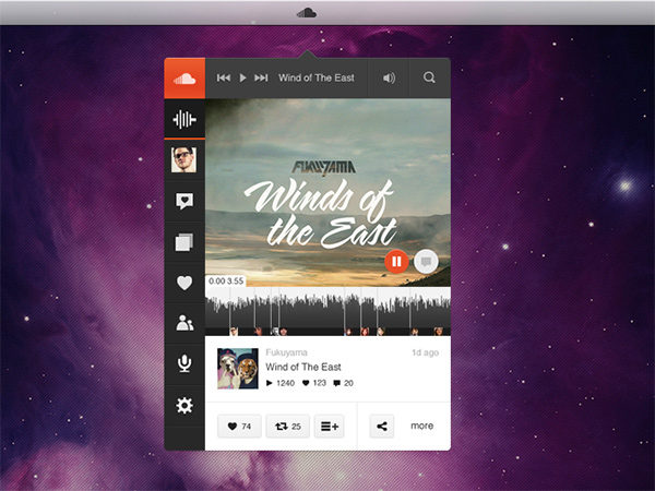 SoundCloud Music Player App 28 - WeLoveSoLo