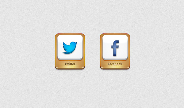 twitter icon social icons metal golden gold free facebook icon