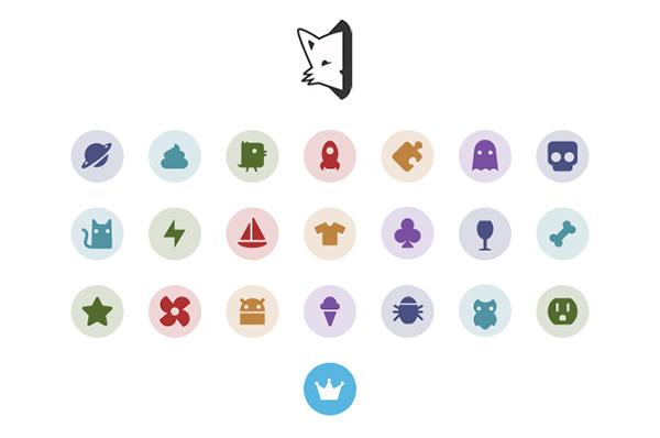 vector symbols set spooky secret icons free circle android