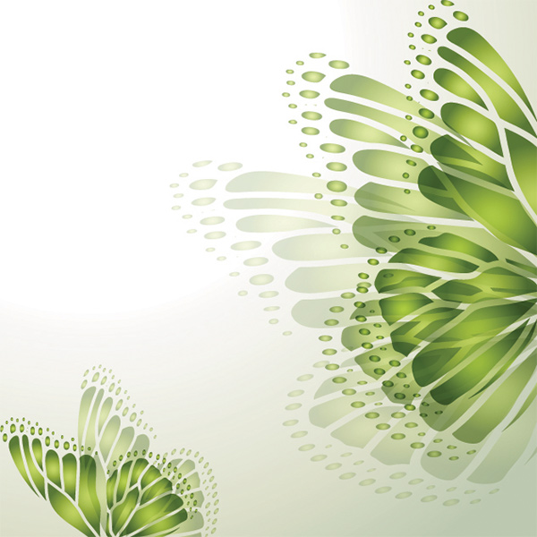 spring green free butterfly butterflies background art vector abstract