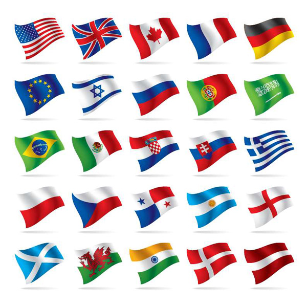 world flags world flag icons eps web wavy waving vector unique ui elements stylish set quality original new national international interface illustrator icons high quality hi-res HD graphic fresh free download free flags flag icons elements download detailed design creative