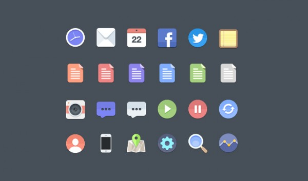 web icons web unique ui elements ui stylish set rounded quality original new modern interface icons hi-res HD fresh free download free flat icons flat file icon elements download detailed desktop design creative clean circle icons