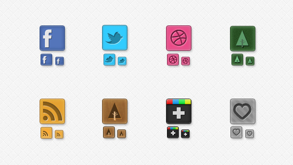 web unique ui elements ui twitter stylish social icons set social icons social RSS rounded quality psd original new networking modern media interface icons hi-res heart psd HD google fresh free download free Forrst Facebook elements dribbble download detailed design creative clean