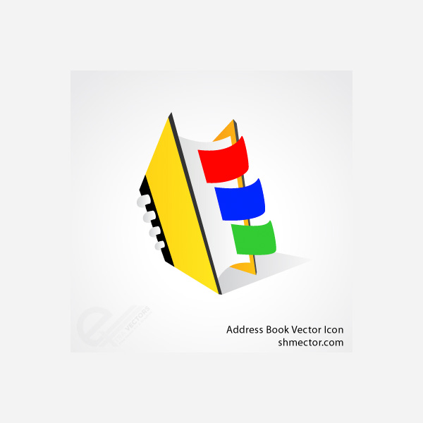 vector icon free download free colorful book book icon address book icon address book