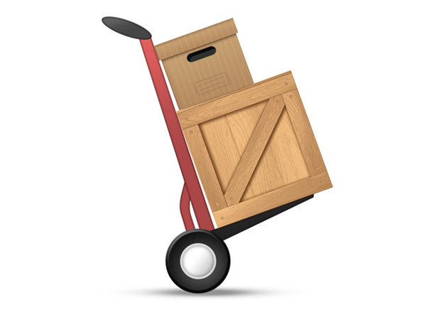 wooden box ui elements shipping psd interface icon hand truck icon hand truck free download free download dolly icon dolly delivery cardboard box box