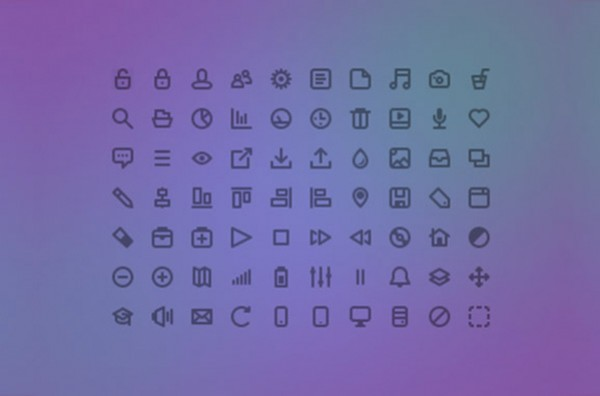 ui elements set pictogram pack freecons mini icons glyph free download free download