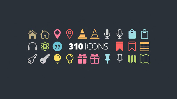 vector ui elements set retina pack glyphs free download free font icons download css collection 16px