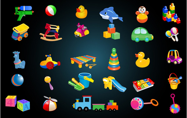 vector trucks train rattles icons icon helicopter free download free duck dolphin colorful cars blocks balls baby toys baby