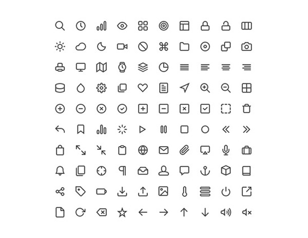 vector ui elements ui set pack line icons icons icon free download free feather icons feather