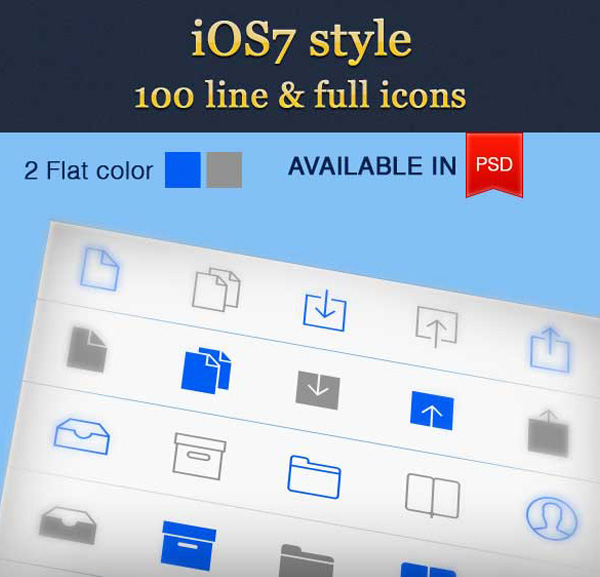 ui elements ui set pack line icons ios7 icons ios7 grey gray free download free blue