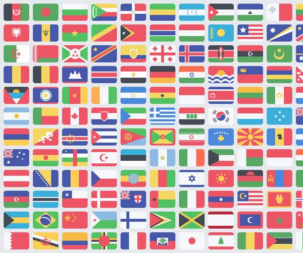 world flags world ui elements ui set rounded pack national free download free flat flag icons flag emblem