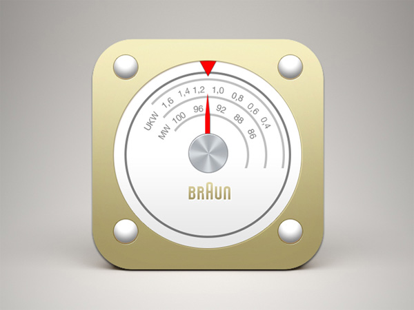 ui elements ui radio dial radio metal ios icon free download free braun radio icon braun
