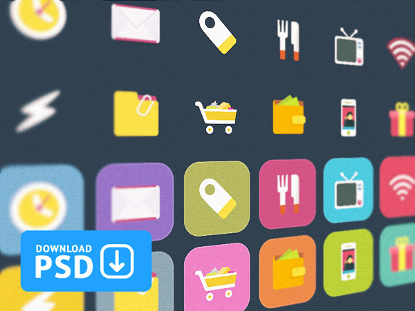ui elements ui set rounded corner metro icons icon free download free flat icons set flat colorful