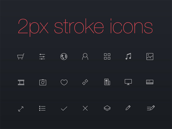 ui elements ui thinicons thin stroke icons set pixel outline line ios 7 ios icons icon glyph free download free
