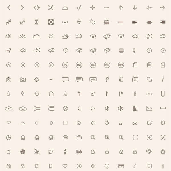 ui elements ui stroke pixel pack outline icons set outline mini line icons icon glyph icons glyph free download free