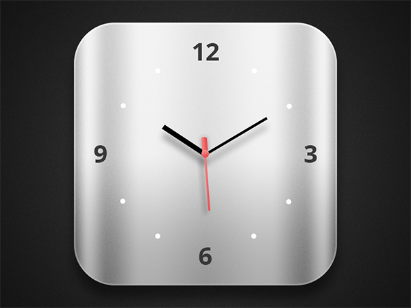 ui elements ui rounded metal icons icon free download free clock apple system clock apple