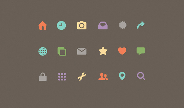 ui elements ui small set mixed mini icons free download free flat icons set flat colorful