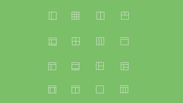 vector simple ui elements ui set layout icons icon layout grid icon free download free block icon