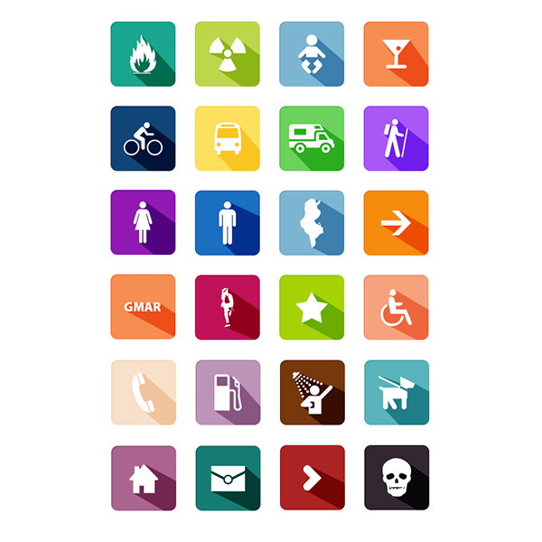 wheelchair washroom ui elements ui symbols signs set gmarellile poison phone pedestrian long shadows icons free download free flat fire danger colorful baby