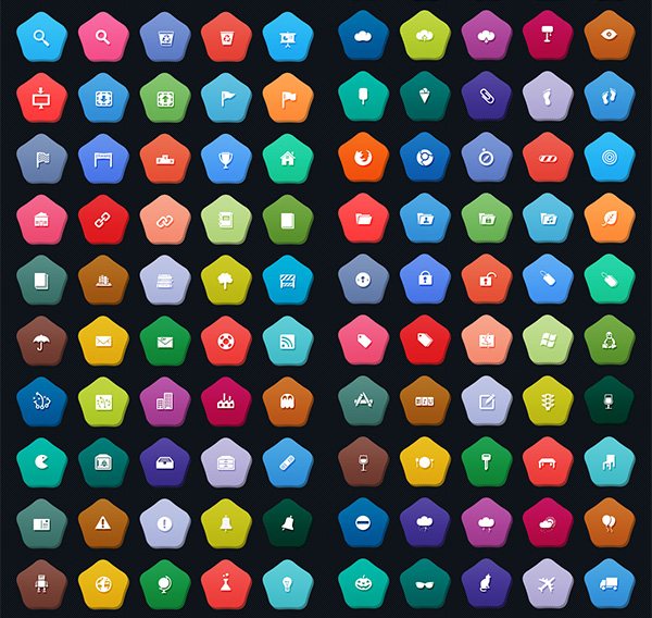 ui elements ui set pictograph pictogram picto pack icons gmarellile free download free flat colorful