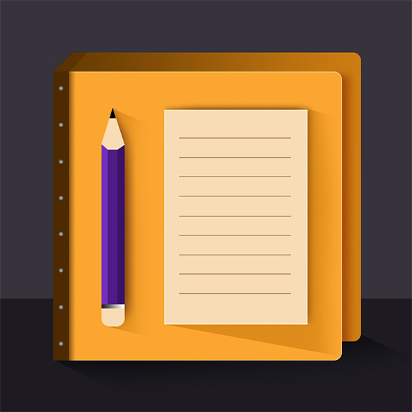 ui elements ui pencil notes notepad icon notepad notebook icon note pad list icon free download free