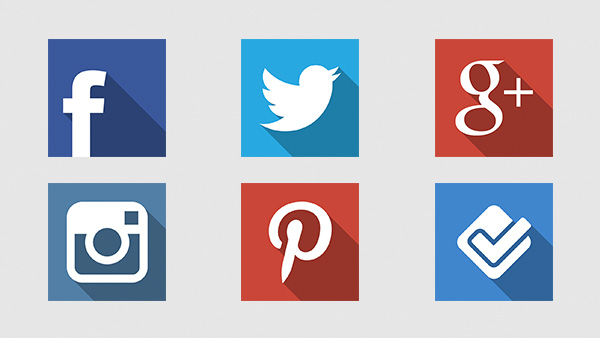 ui elements ui square social icons set retina long shadow pack icons free download free flat