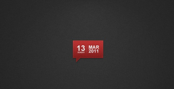 user interface unique UI element time texture soft sew red month marks jeans indicator free psd dots day date calendar attractive 2.0 web