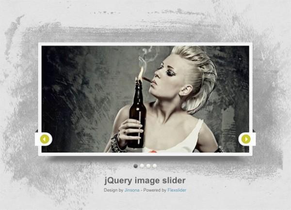 Slick Stylish Image Slider CSS/PSD - WeLoveSoLo
