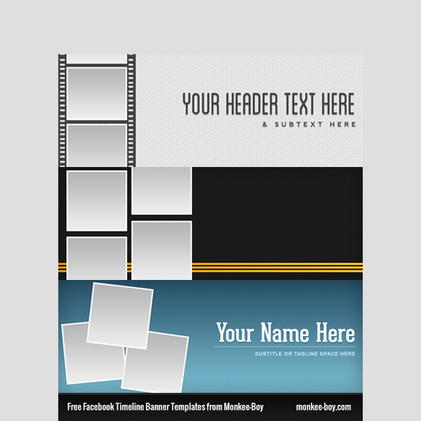 facebook timeline banner template psd welovesolo