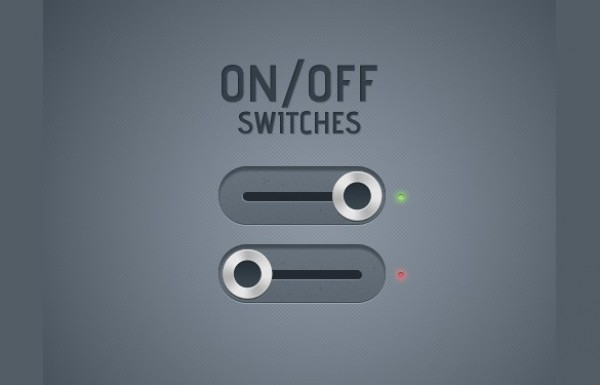 web unique ui elements ui switches switch stylish quality psd original on/off on off new modern metal knob interface hi-res HD fresh free download free elements download detailed design creative clean