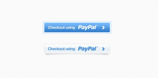 white sharp psd Photoshop paypal high quality free downloads free buttons editable crisp clean buttons blue 2.0 web 2.0