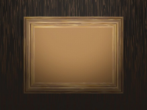 bea419000412 5 Vector Vintage Wooden Picture Frames - WeLoveSoLo