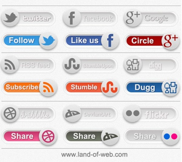 web unique ui elements ui switches stylish state social toggles social site set quality original on off new networking modern media interface hi-res HD fresh free download free elements download detailed design creative clean bookmarking