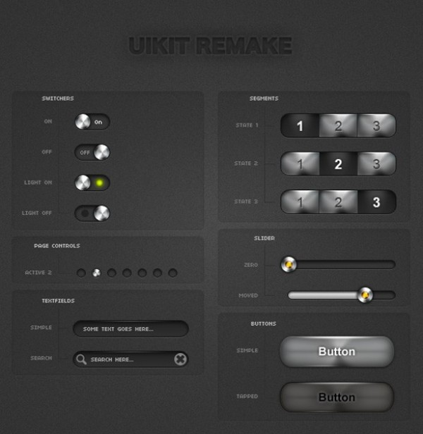 web unique ui kit ui elements ui stylish simple remake quality original new modern kit iphone ui kit iphone interface hi-res HD fresh free download free elements download detailed design creative clean