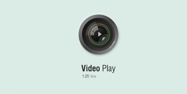 web video player video play button unique ui elements ui stylish shiny quality psd player play button original new modern interface hi-res HD glossy glassy fresh free download free elements download detailed design creative clean camera lens camera button
