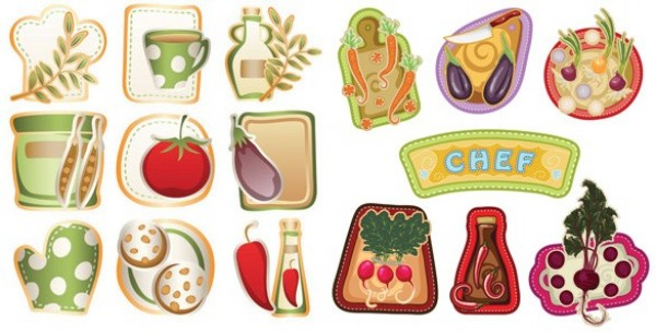 web vegetables vector unique ui elements stylish stickers radish quality original onion new labels kitchen interface illustrator high quality hi-res HD graphic fruit fresh free download free elements download detailed design creative chilies carrot beets