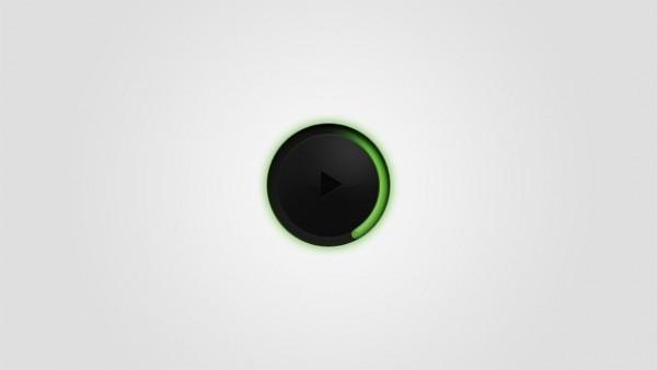 Dark Circular Audio Player PSD - WeLoveSoLo