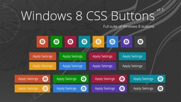 windows 8 web unique ui elements ui stylish simplistic set quality original new modern metro interface icons html hi-res HD fresh free download free elements download detailed design css creative colorful coded clean buttons