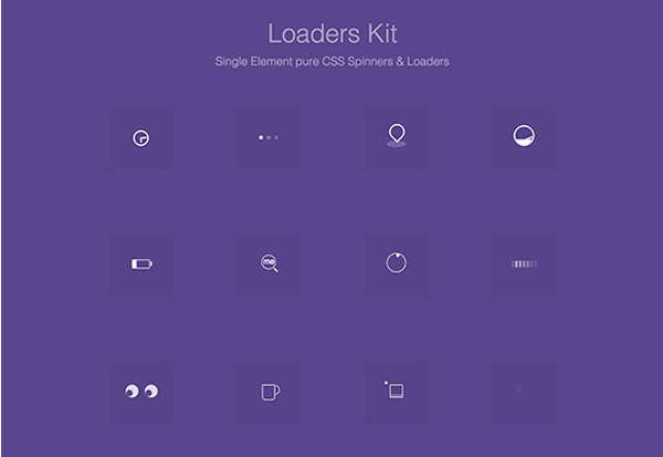 ui elements ui spinner snippet loader free download free css coded animated